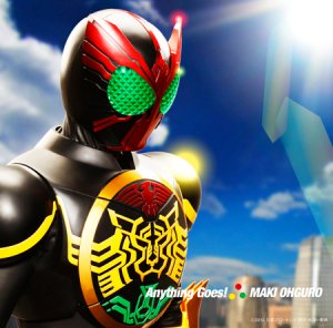 Anything Kamen Rider Goes Single Ooo
