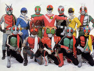 Nine Riders and Sun Vulcan