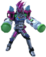 Kamen Rider Zi-O Ex-Aid Armor in City Wars