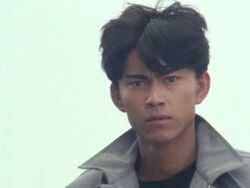 Kotaro Minami in Black