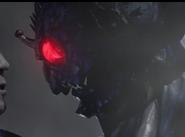 Origin's scary face.