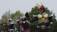 Ryuki, Agito & Wizard in Heisei Generations Forever