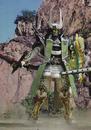 Zangetsu Jimber Melon with weapons