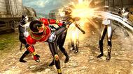 Decade Kuuga form vs Dai-Shocker Combatmen