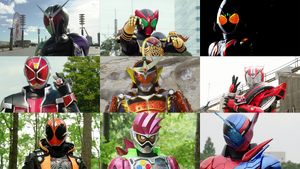 Heisei Phase 2 Riders