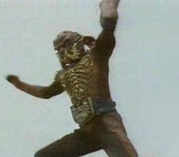 Poison Scorpion Man