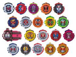 All Heisei 19 ridewatches