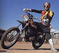 Rider-machine 01