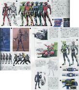 Kabuto Riders Concept Art