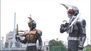 2 Kabutech Riders summoned