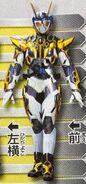 Kamen Rider Valkyrie Lightning Hornet.