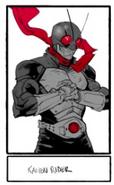 Kamen Rider 1 by Dan Mora