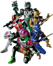 Team Ex-Aid from Magazine