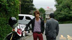 Haruto confronts Kizaki