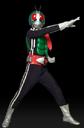Masked Rider Warrior Leader