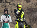 After All, I am the President and a Kamen Rider