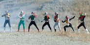 Seven Legendary Riders (Super Hero Taisen)