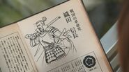 Oda Nobunaga in Takerus Book