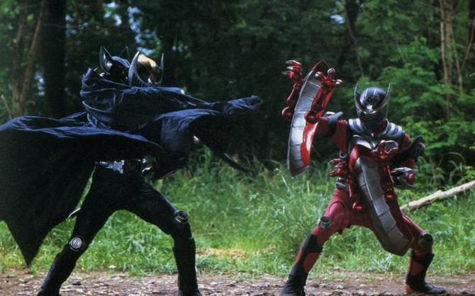 image ryuki and knight guard vent jpg kamen rider wiki fandom