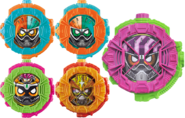 All Ex-Aid Ridewatches