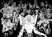 Kamen Rider Showa Villains in Kamen Rider Spirits Manga