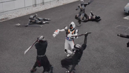 Fourze fight in Heisei Generations Forever