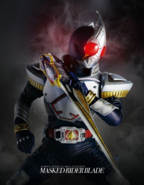Kamen Rider Climax Fighters Blade Poster