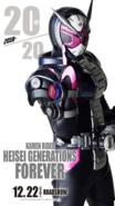 Kamen Rider Heisei Generations FOREVER Zi-O Poster