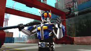 Kamen Rider Den-O Rod Form intro in Battride War Genesis