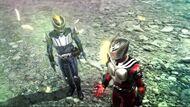 Ryuki and Knight Battride War