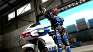 Kamen Rider G3-X intro in Battride War Genesis