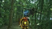 Decade Kabuto Rider Kick Step 1