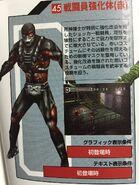 Empowered Shocker Combatman Red
