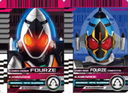 All Fourze Rider Cards
