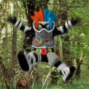 Ex-Aid Level X with the Gashat still in the Gamer Driver