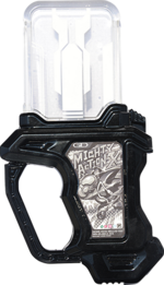 KREA-Proto Mighty Action X Origin Gashat