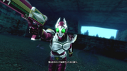 Kamen Rider Garren intro in Battride War Genesis