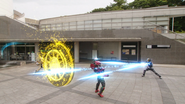 Hyakuretsu Time Burst Shooting Ver