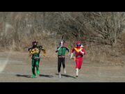 Kamen Rider Ichigo, Kamen Rider Ichigo & Akaranger