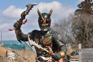 Another Agito with swords