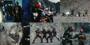 Kamen Rider Black & RX with Robo & Bio
