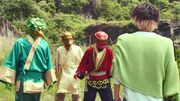 Alain meets Sanzo disciples