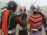 Three Riders vs. Neoshocker's School Fortress