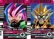 All Ex-Aid Rider Cards