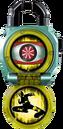 KRGa-Shocker Rider Lockseed opened