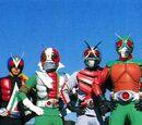Eight Riders vs. Galaxy King
