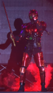 Red Shadow Moon live action suit