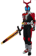 Kamen Rider Kabuto Hyper in City Wars