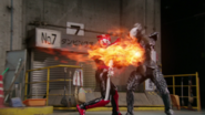 Flare firepunch