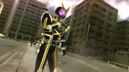 Kamen Rider Kaixa intro in Battride War Genesis